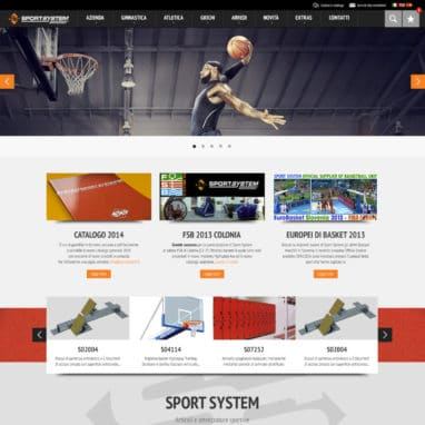 Sito Wordpress Sport System